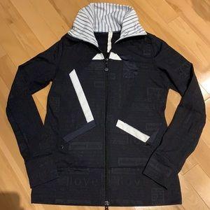 EUC Lululemon Stride Origami Logo Jacket - Size 8